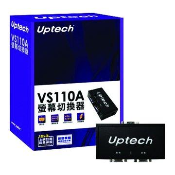Uptech VS110A AUTO15-2螢幕音源切換器