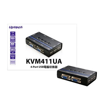 Uptech KVM411UA 4-Port USB電腦切換器