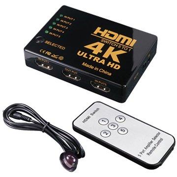 伽利略  H4501R HDMI 4K2K 影音切換器 5進1