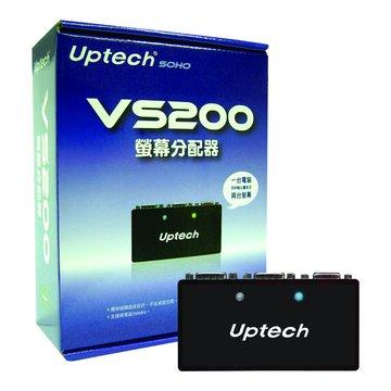 Uptech VS200 2埠螢幕分享器