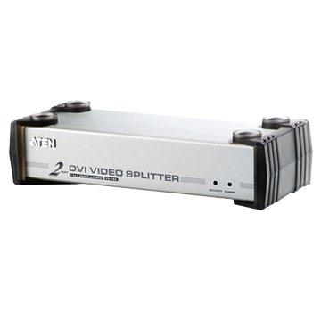 ATEN 宏正 VS162 2埠 DVI 螢幕分配器