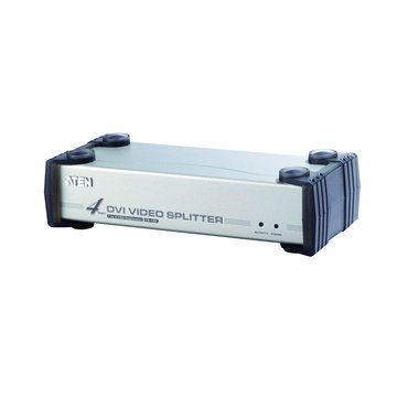 ATEN 宏正 VS164 4埠DVI同步音訊分配器