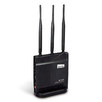 netis WF2409黑極光 4埠無線分享器300M