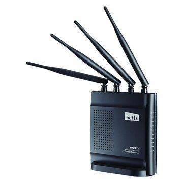 netis WF2471雙頻黑極光無線分享器