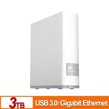 WD 威騰My Cloud 3TB雲端儲存系統