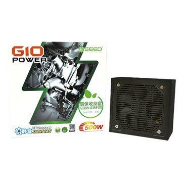 SEED 種子G10 500W/80+白牌 電源供應器