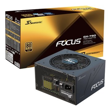 海韻 Focus GX-750金牌全模組電源供應器