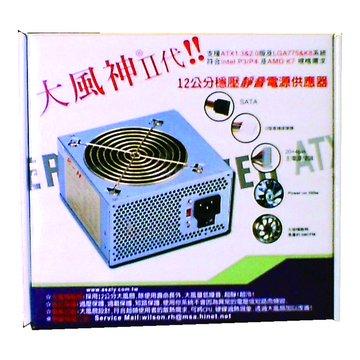 Ruenn-Hong 潤宏 大風神Ⅱ 350W/12CM 電源供應器