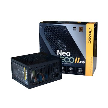 Antec 安鈦克 NEO ECO II 450 / 450W / 銅牌轉換率