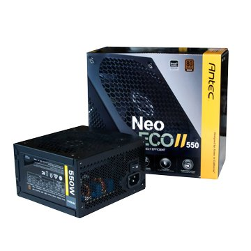 Antec 安鈦克 NEO ECO II 550 / 550W / 銅牌轉換率