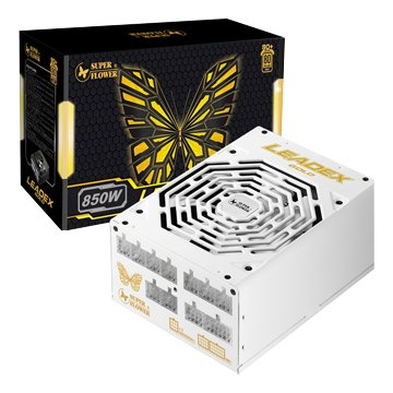 SUPER FLOWER Leadex Gold 850W/80+金牌電源供應器