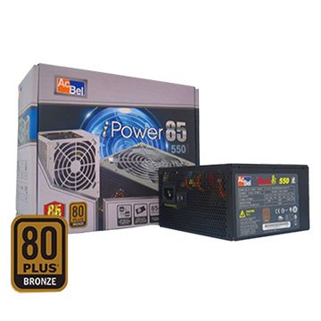 Ac Bel 康舒 500W/雙組12V80+銅牌 電源供應器