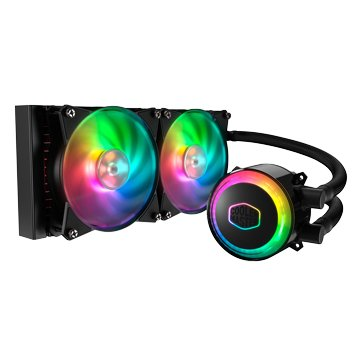 COOLER MASTER MasterLiquid ML240R RGB水冷散熱器(三針RGB)