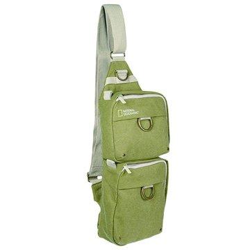 NATIONAL GEOGRAPHIC 國家地理頻道4475 雙袋斜背包/淺軍綠