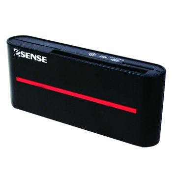 E-SENES 逸盛 雙SD/Micro/CF/MS USB 3.0讀卡機(黑)