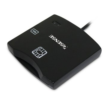 E-SENES 逸盛CR4 ATM智慧晶片讀卡機(黑)
