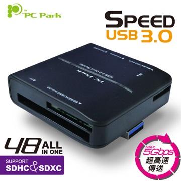 PC Park A230 USB3.0讀卡機(黑)