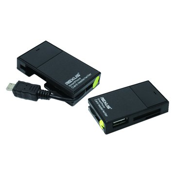 iCooby iR99 OTG HUB+手機/平板讀卡機(黑)