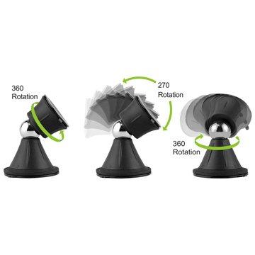 360度磁吸式球型雙面吸盤支架