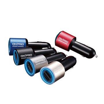 ONPRO 鴻普光電GT-2P01 4.8A雙USB車用充電器(不挑色)