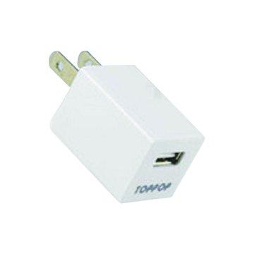 TOPP OP TOPPOP 方塊USB 電源轉換器-白