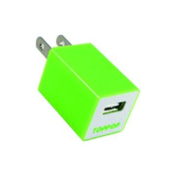 TOPP OP TOPPOP 方塊USB 電源轉換器-綠
