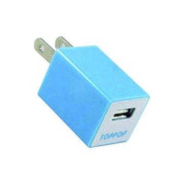 TOPP OP TOPPOP 方塊USB 電源轉換器-藍