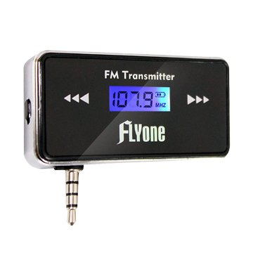 FLYoneFM-T1B無線FM音樂傳輸器(第二代可折收納版)