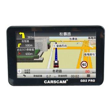 CARSCAM 行車王 CARSCAM行車王 GD2 PRO 測速GPS衛星導航機(福利品出清)