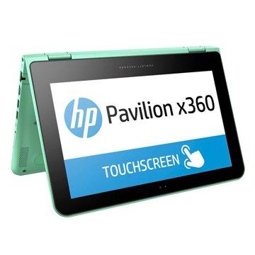 hp 惠普 Pavilion x360 Conv 11-k054TU綠(N3700/4G/500GB+8GSSHD)(福利品出清)