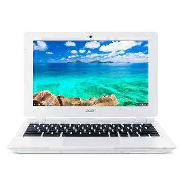 acer 宏碁 Chromebook CB3-111-C3VG(白)(福利品出清)
