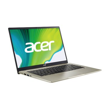 acer 宏碁 SF114-34-C3TN 金(N5100/8G/256G SSD/W10) 輕薄筆電