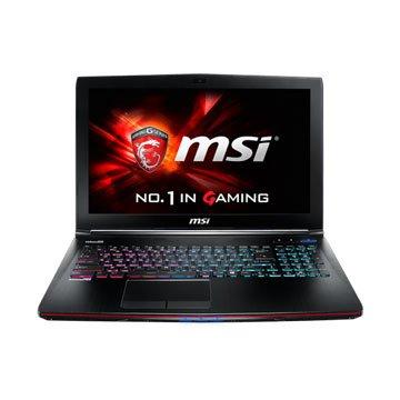 MSI 微星 GE62-236 15.6(i7-5700HQ/965M 2G/8G/1T/Win8.1)(福利品出清)