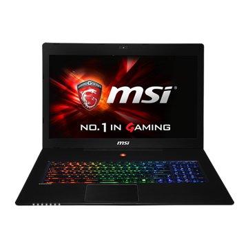 MSI 微星 GS70-685 17.3(i7-5700HQ/965M 2G/16G/1TB+128G/Win10)(福利品出清)