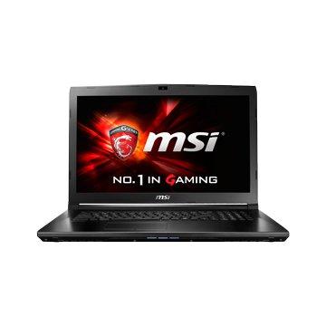MSI 微星 GL72 7RDX-640TW電競(i5-7300HQ/4G/GTX1050-2G/1TB+128GSSD/W10)(福利品出清)(星光折扣)
