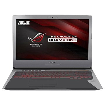 ASUS 華碩 G752VS-0051A6820HK 銀電競(i7-6820HK/16G/GTX1070/1T+256G SSD)(福利品出清)