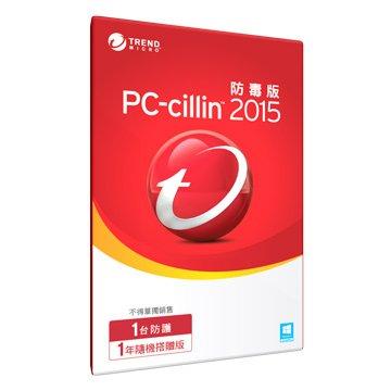 TREND 趨勢 PC-cillin防毒 一年/隨機版