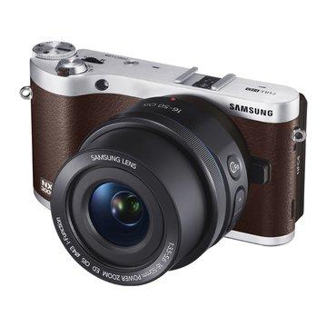 SAMSUNG 三星 NX300M棕 單鏡(18-55mm)輕單眼 D(福利品出清)