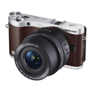 SAMSUNG 三星 NX300M棕 單鏡(18-55mm)輕單眼(福利品出清)