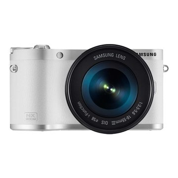 SAMSUNG 三星 NX300M白 單鏡(18-55mm)輕單眼(福利品出清)