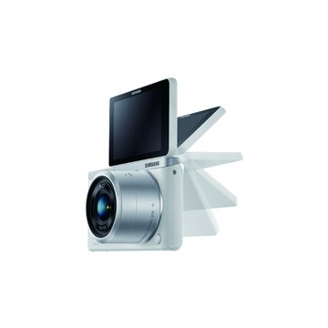 SAMSUNG 三星 NX Mini 變焦組(9-27mm)白 輕單眼(福利品出清)