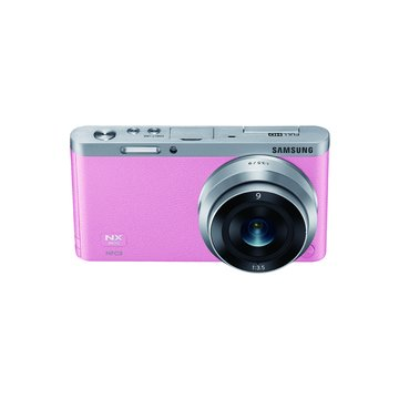 SAMSUNG 三星 NX Mini 變焦組(9-27mm)粉 輕單眼(福利品出清)