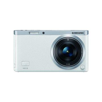 SAMSUNG 三星 NX Mini 定焦組(9mm)白 輕單眼 D(福利品出清)