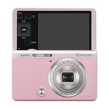 CASIO 卡西歐ZR55 粉紅3