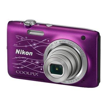 NIKON 尼康 S2800彩繪紫2.72010萬畫素(福利品出清)