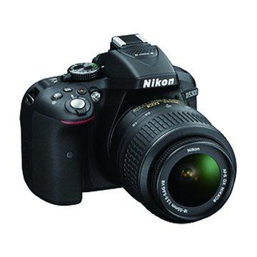 NIKON 尼康 D5300(18-55mm)黑 單眼相機(福利品出清)