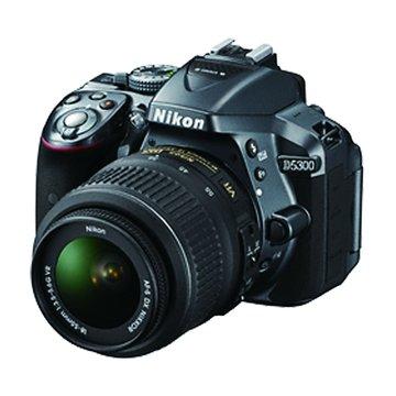 NIKON 尼康 D5300(18-55mm)鐵灰 單眼相機(福利品出清)