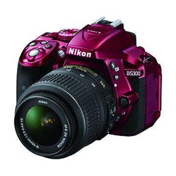 NIKON 尼康 D5300(18-55mm)紅 單眼相機(福利品出清)