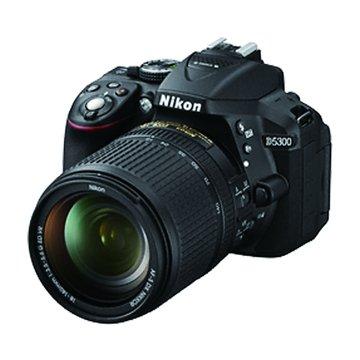 NIKON 尼康 D5300(18-140mm)黑 單眼相機(福利品出清)