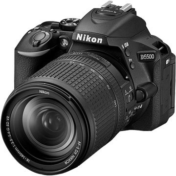 NIKON 尼康D5500(18-140mm)黑 單眼相機(福利品出清)